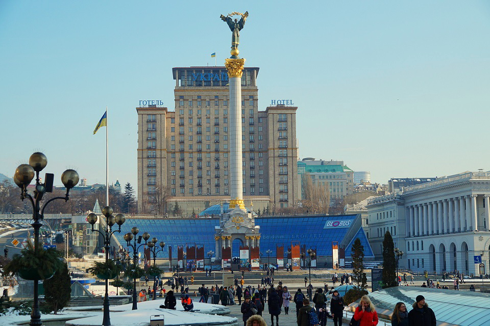 Transfers from Kiev airport to Independence square